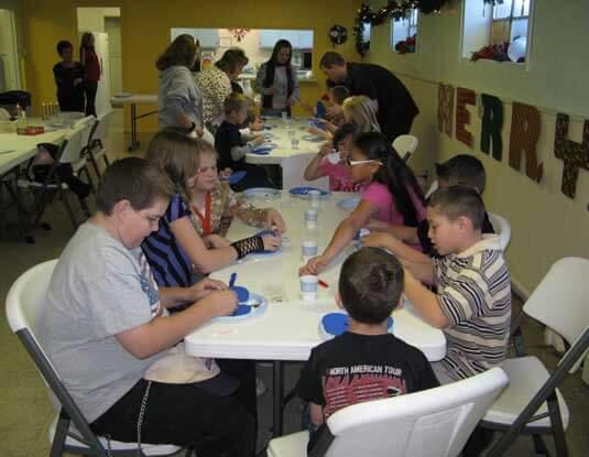 Congregation Meeting over Dinner