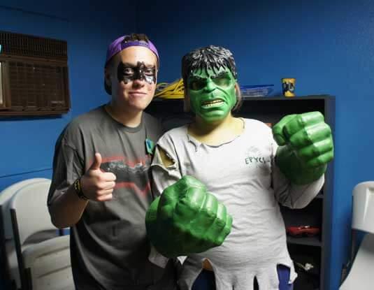 Super Hero Fun Night!