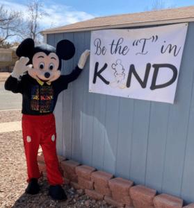mickey be kind